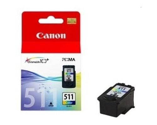 Canon CL-511 2972B007 Картридж для PIXMA MP240, PIXMA MP260, PIXMA MX320, PIXMA MX330 EMB, Цветной, 244стр., 9 мл.