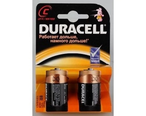 Duracell LR14-2BL MN1400 (EU) (2 шт. в уп-ке)