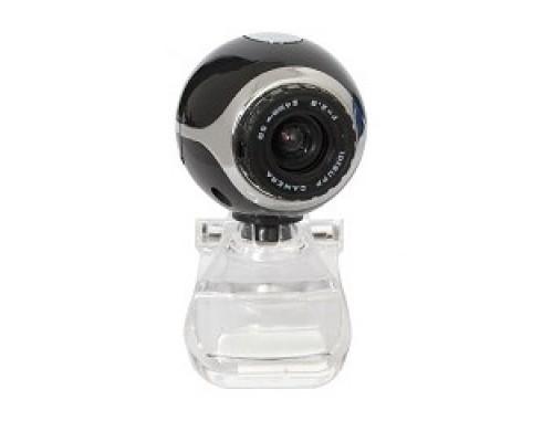 Web-камера Defender C-090 Black 0.3МП, универ. крепление 63090