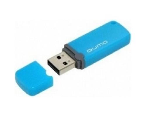 USB 2.0 QUMO 8GB Optiva 02 Blue QM8GUD-OP2-blue