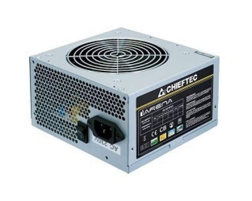 Chieftec 500W OEM GPA-500S8 ATX-12V V.2.3 PSU with 12 cm fan, Active PFC, ficiency >80% 230V only