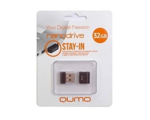 USB 2.0 QUMO 32GB NANO QM32GUD-NANO-B