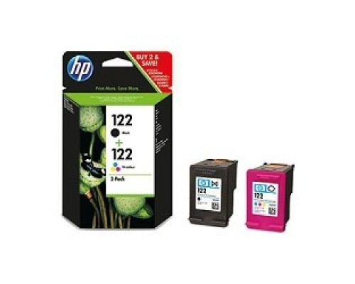 HP CR340HE Картридж №122, Black&Color DeskJet 1000/1050A/2000/2050A/2054A/3000/3050A/3052A/3054A, Black&Color (combo-pack)