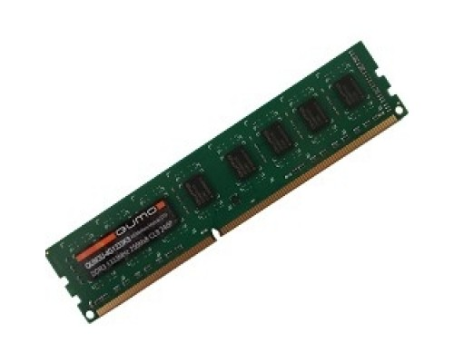 QUMO DDR3 DIMM 4GB (PC3-12800) 1600MHz QUM3U-4G1600K11(R) 256x8chips