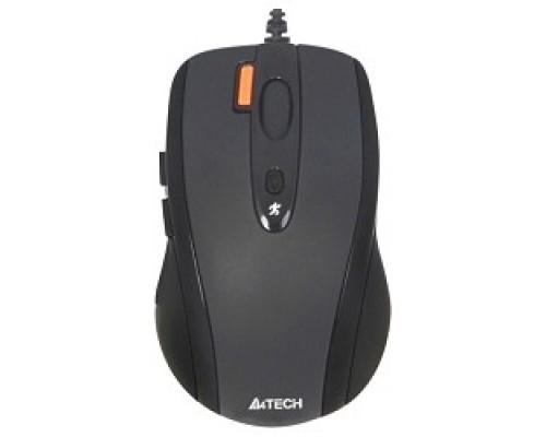 A-4Tech N-70FX(-1) (BLACK) USB, 4+1 кл.-кн.,провод.мышь 627755