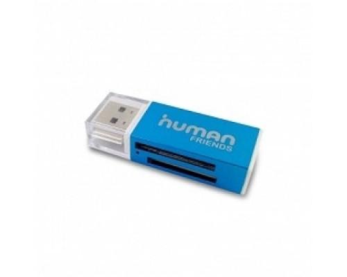USB 2.0 Card reader CBR Human Friends Speed Rate, Micro SD, USB 2.0