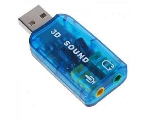 C-media ASIA USB 6C V Звуковая карта USB TRUA3D (C-Media CM108) 2.0 channel out 44-48KHz (5.1 virtual channel) RTL