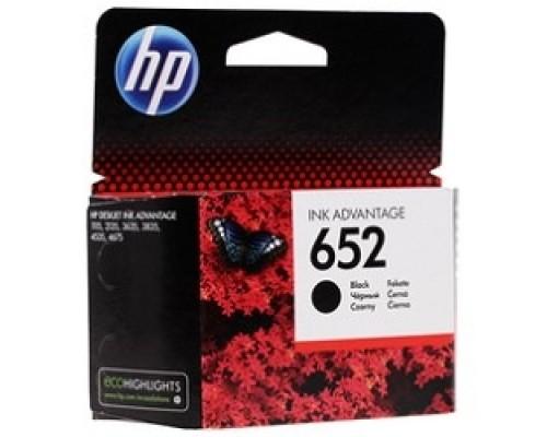 HP F6V25AE Картридж №652, Black DJ IA 1115/2135/3635/4535/3835/4675 (360стр.)