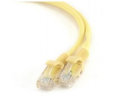 Bion Патч корд UTP кат.5e CCA, 1м, желтый BCL-PP12-1M/Y