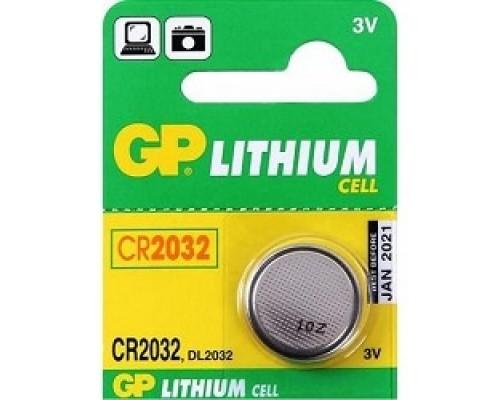 GP CR2032-(7)C1(1 шт. в уп-ке)08984/12302/03223