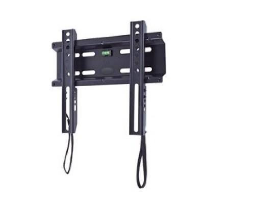 Кронштейн Kromax FLAT-5 NEW, LCD/LED и плазма тв 15-47, настенный, 0 ст.свободы, VESA 200x200 мм, черный
