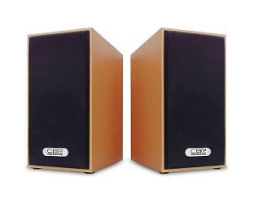 Колонки CBR CMS 635 Brown, 3.0 W*2, USB