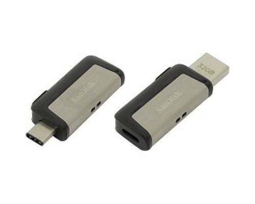 SanDisk USB Drive 32Gb Ultra Dual SDDDC2-032G-G46 USB3.0, Black
