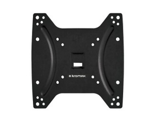Kromax OPTIMA-200 black Кронштейн для LED/LCD телевизоров 15-42, max 25 кг, настенный, 0 ст свободы, 23.5 мм, max VESA 200x200 мм