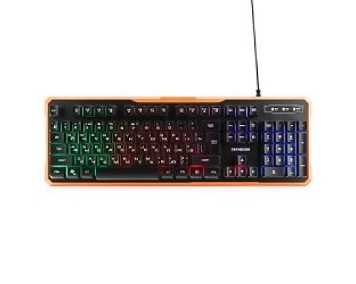 Клавиатуры, мыши Гарнизон Клавиатура игровая GK-320G черный USB, подсветка, код Survarium, антифантомные клавиш