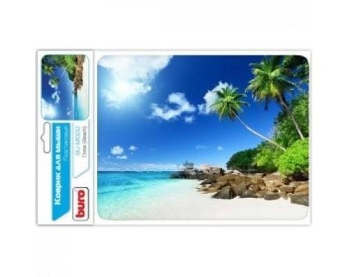 Коврик для мыши Buro BU-M10012 рисунок/пляж 291843