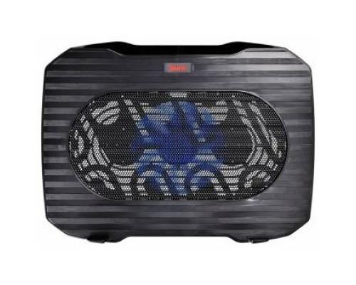 BURO Подставка для ноутбука 15.6357x265x33mm 1xUSB 1x 140mmFAN 345г металлическая сетка/пластик черный (BU-LCP156-B114)