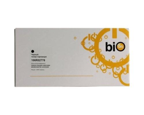 Bion 106R02778 Тонер Картридж черный для Xerox Phaser 3052/3052NI/3260 (3000стр.)