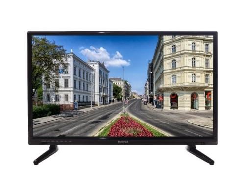 HARPER 24R470T HD READY (1366 x 768); Наличие цифрового тюнера: T2; Габариты упаковки (ШГВ): 608x105x395; Объем, м3: 0,0252; Вес, кг: 3,56