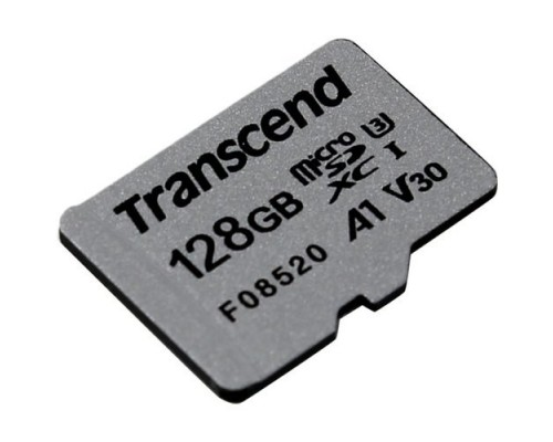 Micro SecureDigital 128Gb Transcend Class 10 TS128GUSD300S MicroSDXC Class 10 UHS-I U3