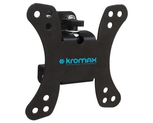 Kromax GALACTIC-10 черный 15-32 макс.20кг настенный поворот и наклон