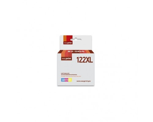 Easyprint CH564HE Картридж (IH-564) №122XL для HP Deskjet 1050/1050s/2050/2050s/3000/3050, цветной