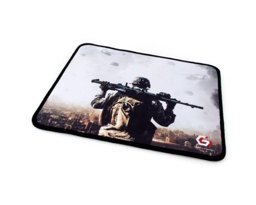 Коврик для мыши Gembird MP-GAME31, рисунок- солдат, размеры 250*200*3мм, ткань+резина, оверлок