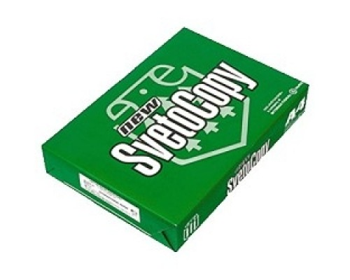 Бумага офисная SVETOCOPY 96% А4 80г/м 500л (отпускается коробками по 5 пачек в коробке) 1/5